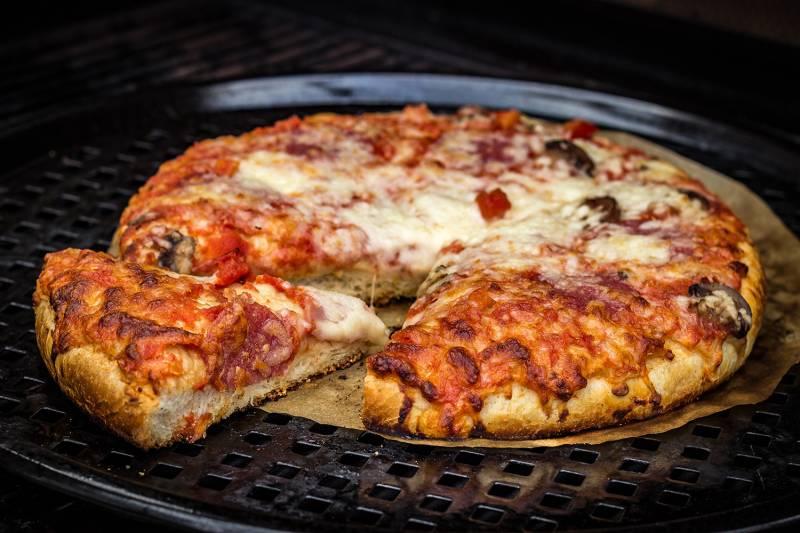 Grillfürst Pizza- und Brotbackblech, Gemüsetopper