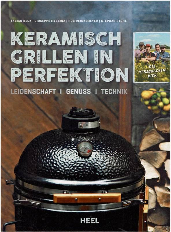 Monolith Buch Keramisch Grillen in Perfektion