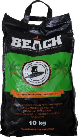 BlackSellig Beach Kokosbriketts 10 kg