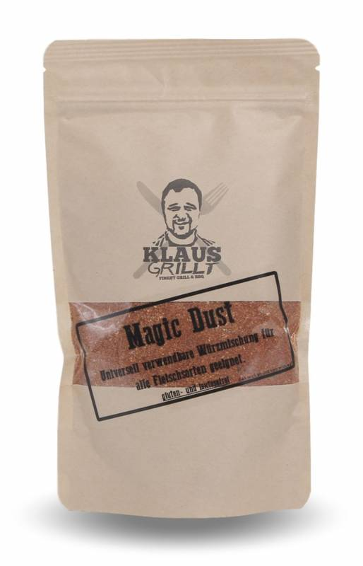 Magic Dust Rub 250 g Beutel by Klaus grillt