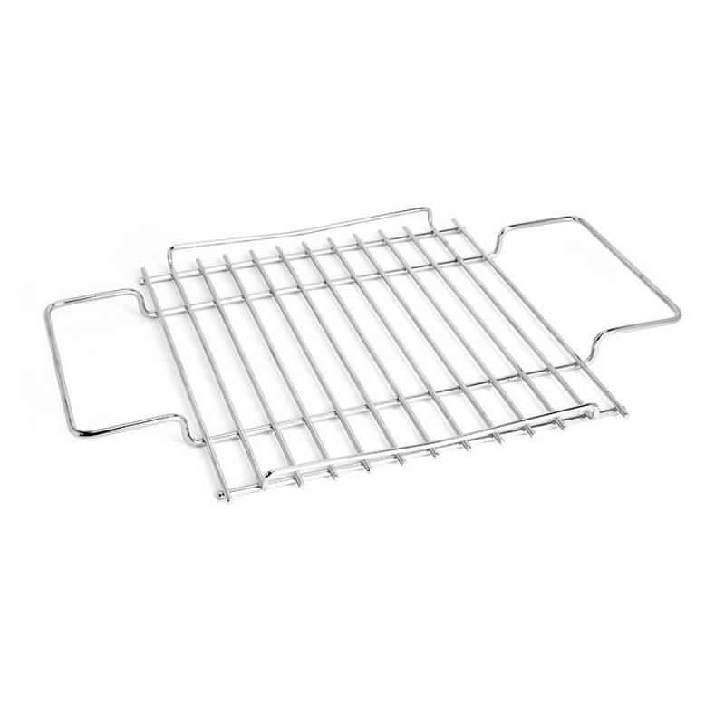 Thüros Ersatzteil: Grillrost mit Griffen für T1, Tischgrill und Minicater (Grillfläche 30x30 cm)