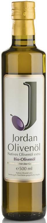 Jordan Bio-Olivenöl nativ extra 500ml