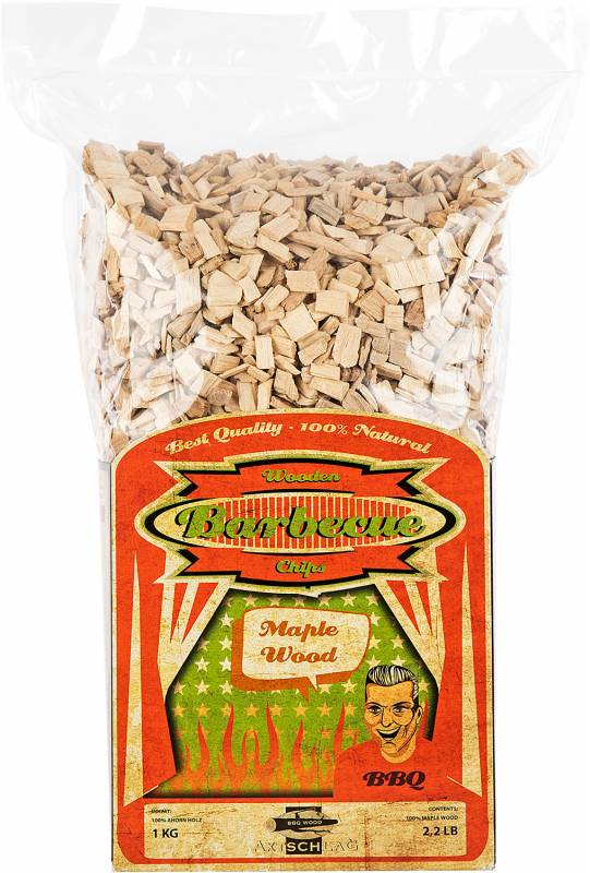 Axtschlag Räucherchips (Wood Chips) - Maple / Ahorn 1kg