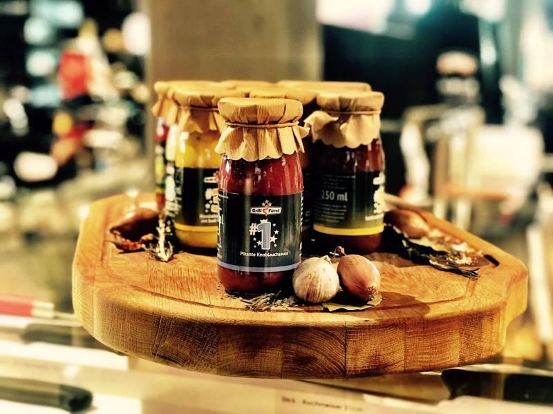 Grillfürst BBQ Sauce No. #1, die pikante Knoblauch Sauce