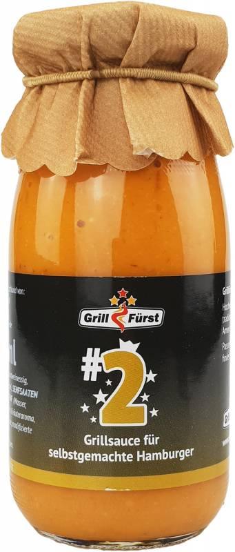 Grillfürst BBQ Sauce No. #2, die Burger Sauce