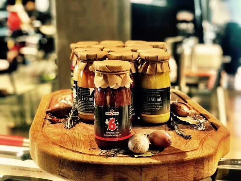 Grillfürst BBQ Sauce No. #6, die scharfe Sauce nach asiatischer Art