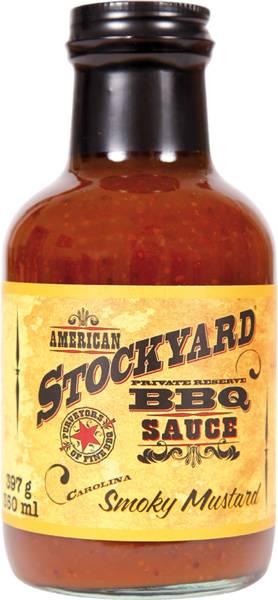 Stockyard Smoky Mustard BBQ Sauce 350ml