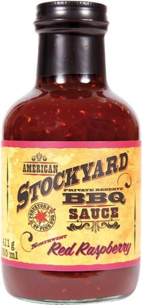 Stockyard Red Raspberry BBQ Sauce 350ml