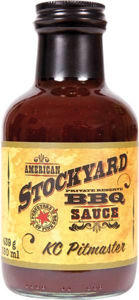 Stockyard KC Pitmaster BBQ Sauce 350ml