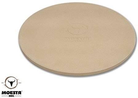 Moesta Pizzastein mit Stier - 36,5 cm