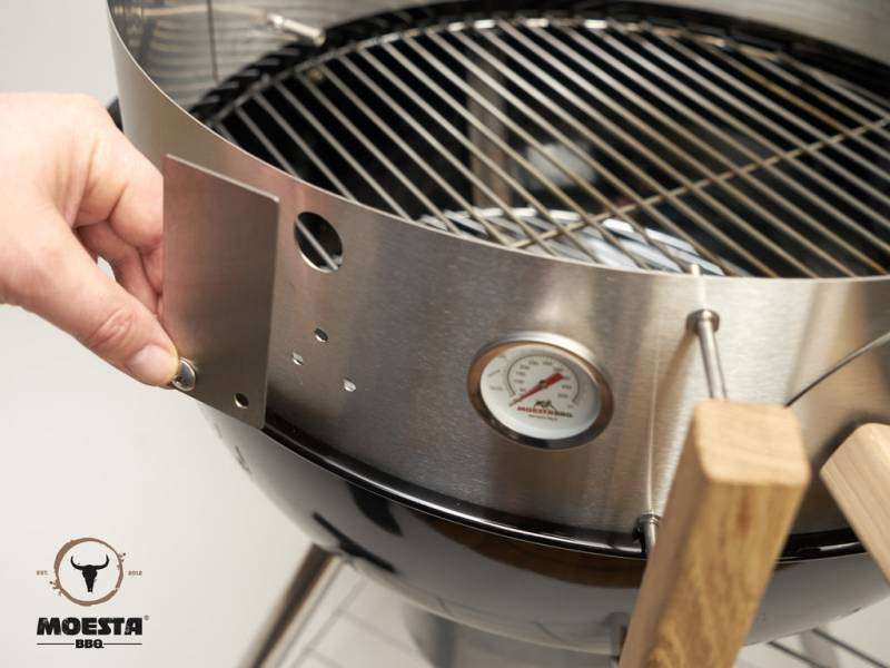 Moesta Smoke'It Verschluss Set für Smokin' PizzaRing