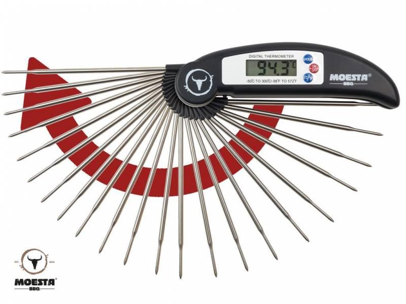 Moesta Thermometer No.1 – Das BBQ-Grillthermometer