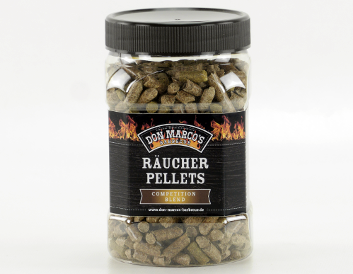 Don Marcos Competition Blend Räucherpellets 450g Dose