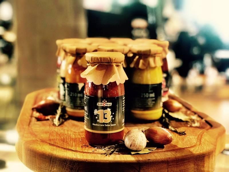 Grillfürst BBQ Sauce No. #13, die mediterrane Salsa Sauce
