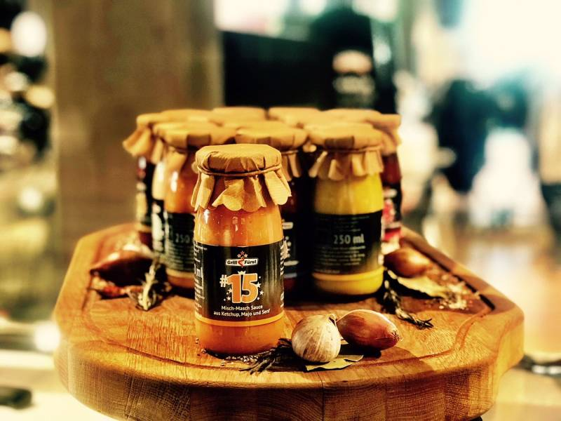 Grillfürst BBQ Sauce No. #15, die Misch-Masch Sauce aus Ketchup, Majo und Senf