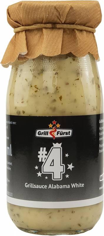Grillfürst BBQ Sauce No. #4, die weiße Sauce im Alabama Stil