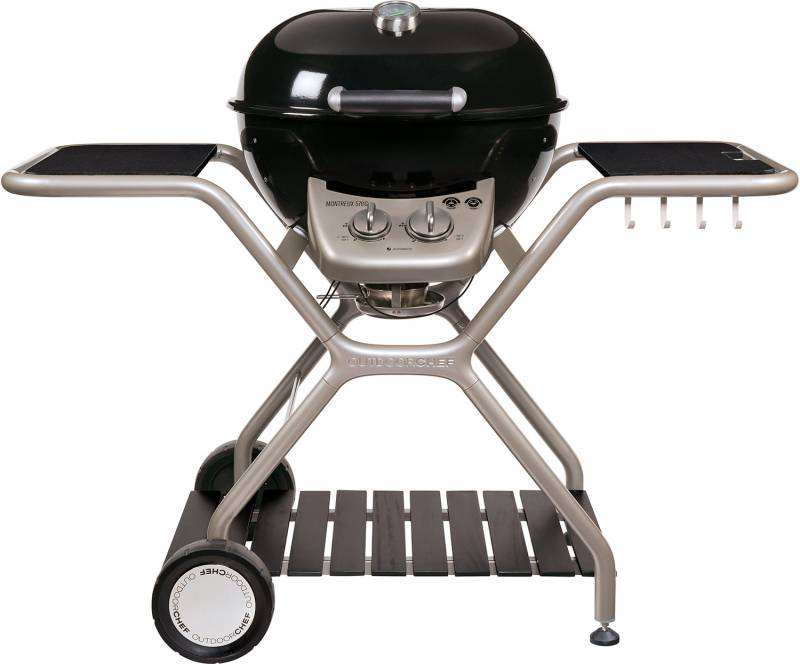 Outdoorchef Gas Kugelgrill: Montreux 570 G - Granit