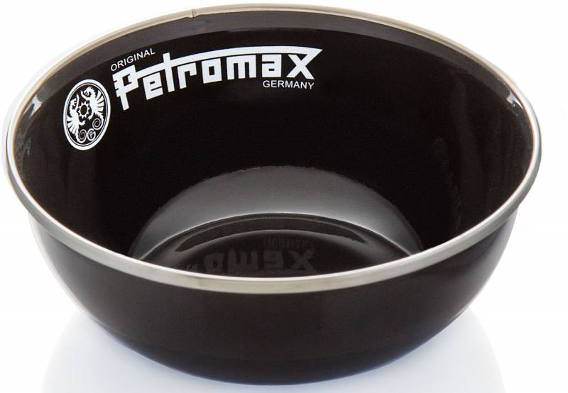 Petromax Emaille Schalen schwarz, 2 Stück