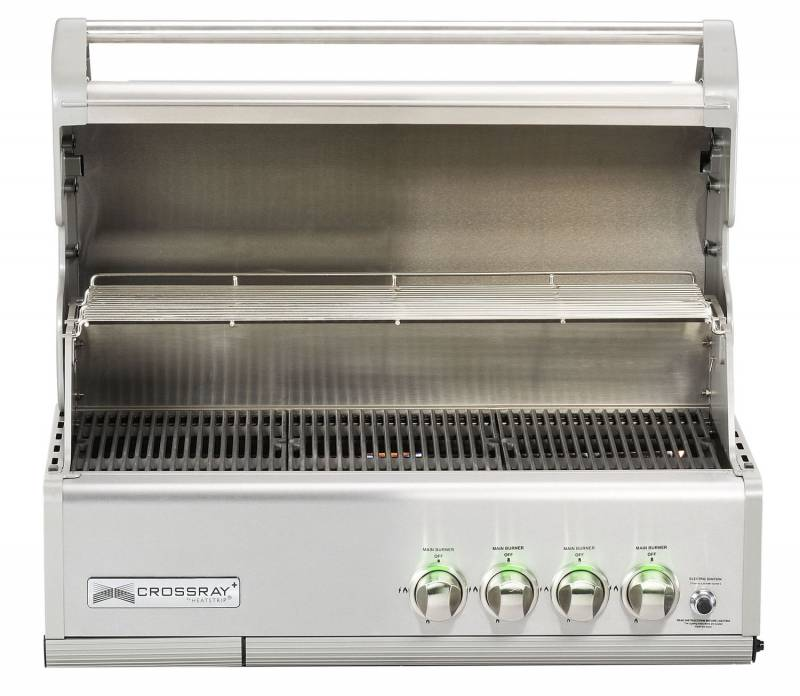 Heatstrip Crossray 4-Brenner Gas Einbaugrill
