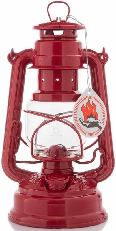 Feuerhand Sturmlaterne 276 rubinrot