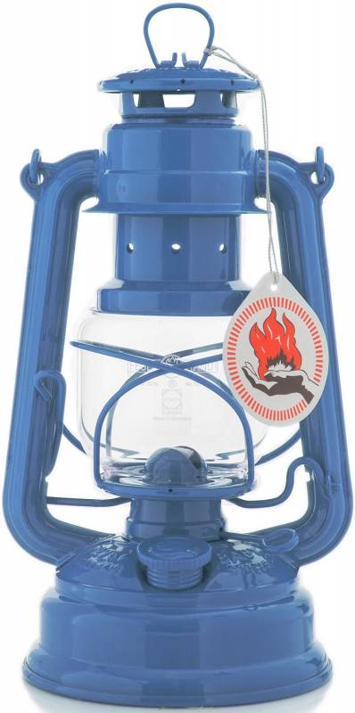 Feuerhand Sturmlaterne 276 brillantblau
