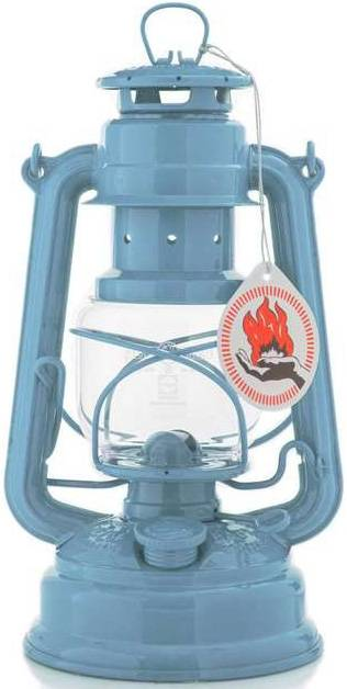 Feuerhand Sturmlaterne 276 pastellblau