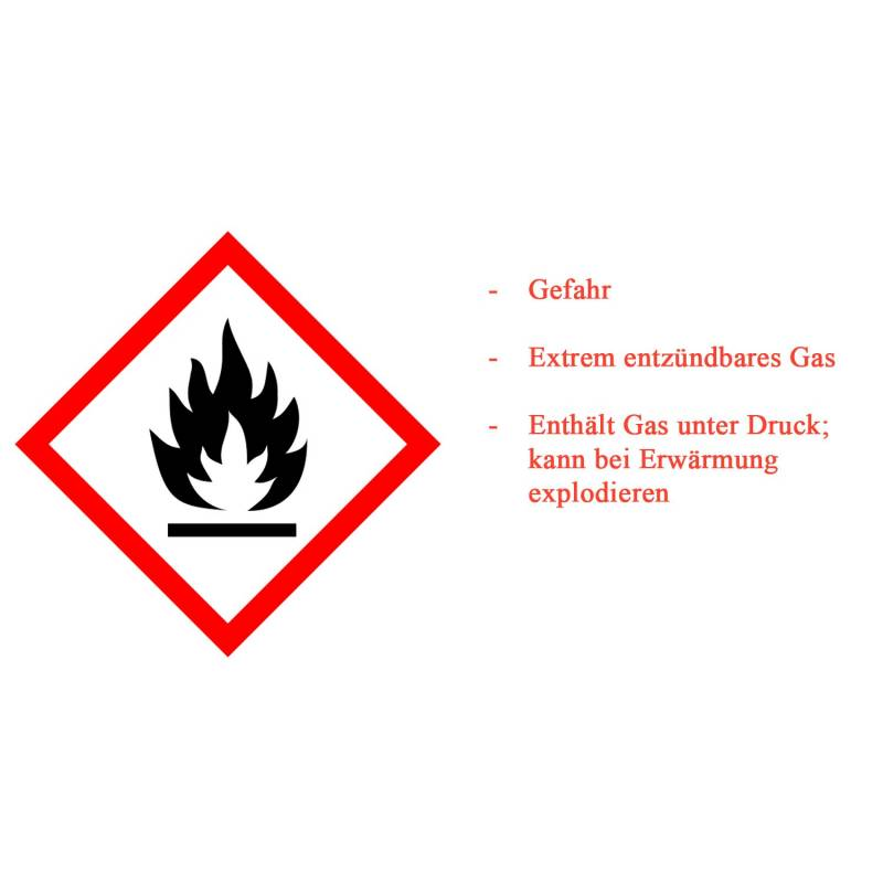Universal Gaskartusche 450g Butan / Propan, Schraubkartusche / Alternative zu Weber 26100 / Kompatibel zu CA 445