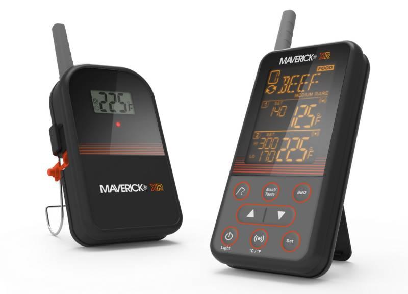 Maverick XR-40 - Das 160 Meter Kabellos BBQ Grillthermometer mit 2 Temperaturfühlern