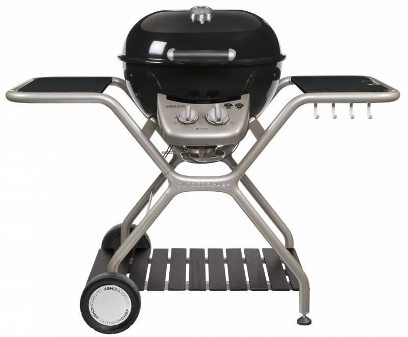 "Outdoorchef Gas Kugelgrill: Montreux 570 G - Granit - exklusive ""Roland Trettl Edition"""