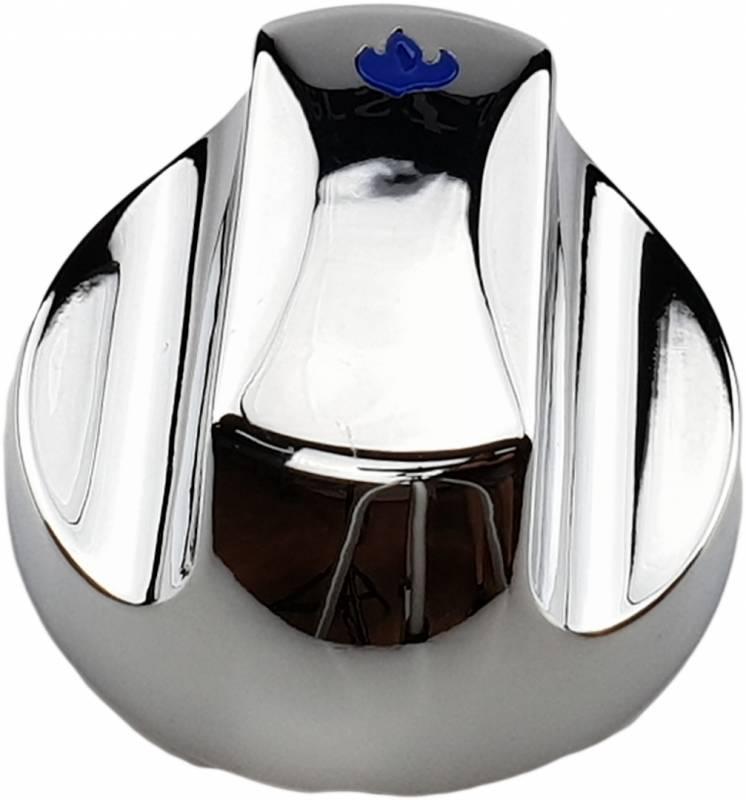 Napoleon Ersatzteil:  Kontrollknopf groß, blau Triumph 325 / 410 / 495