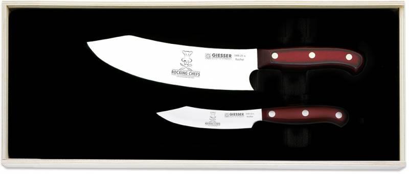 Giesser Premium Cut Messerset Nr. II Rocking Chefs