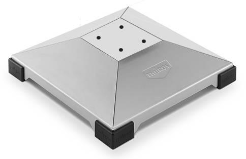 Thüros Ersatzteil: Fußplatte für T3, T4