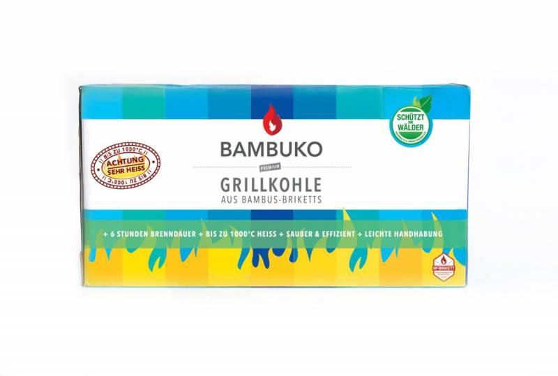 McBrikett BAMBUKO Bambus Grillbriketts 10kg