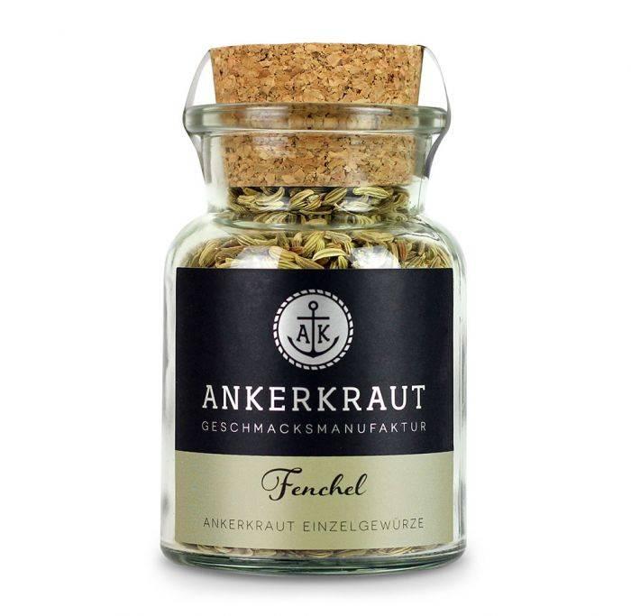 Ankerkraut Fenchelsaat, ganz, 60g Glas