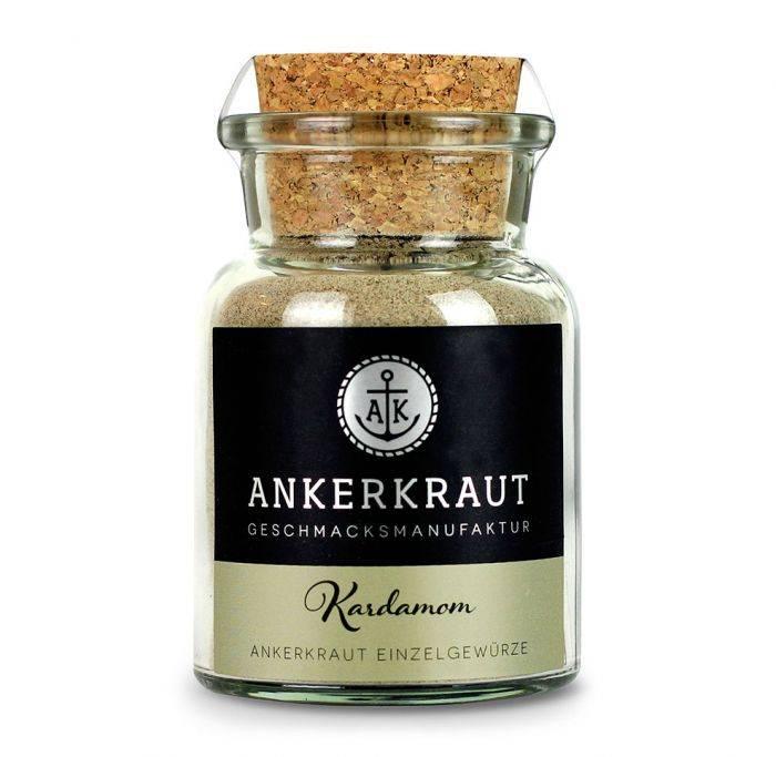Ankerkraut Kardamom, gemahlen, 65g Glas - Auslaufartikel