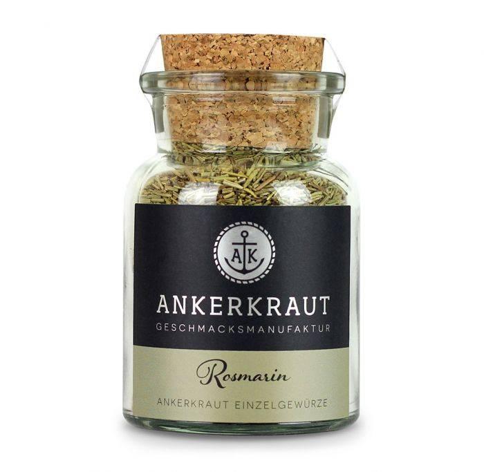 Ankerkraut Rosmarin, gerebelt, 40g Glas