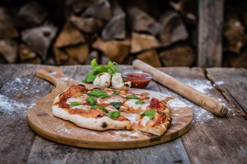 Grillfürst Pizzabrett Bambusholz