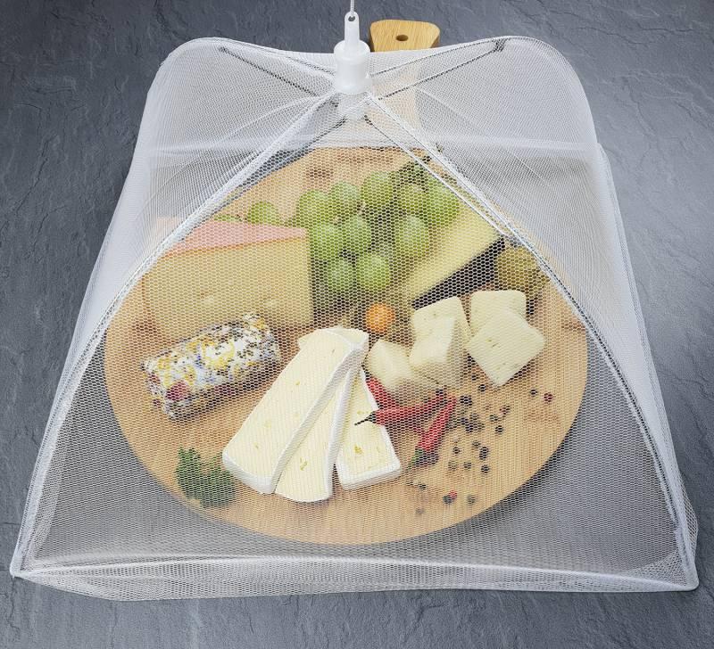 Grillfürst Lebensmittelschirm / Insektenschutz für Lebensmittel, klappbar