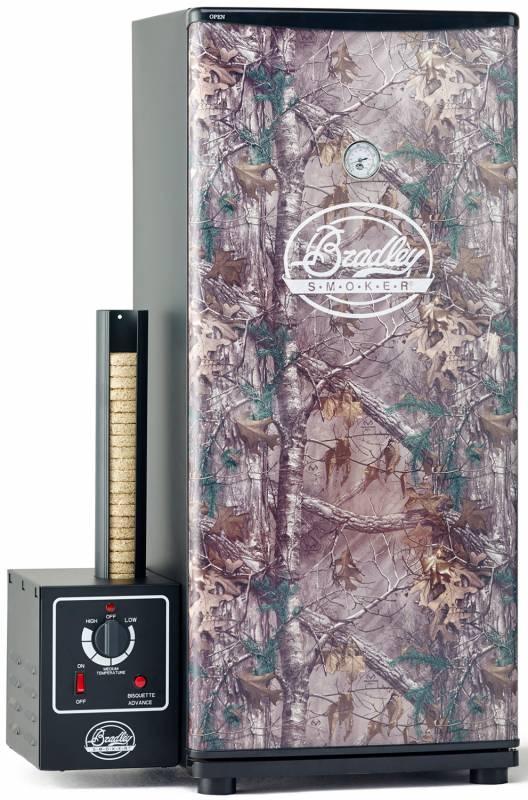 Auslaufmodell - Bradley Realtree XL Smoker 6-Rack Tarnfarben