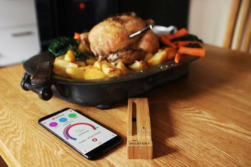 Meater+ 50 Meter Reichweite Bluetooth und WLAN Thermometer