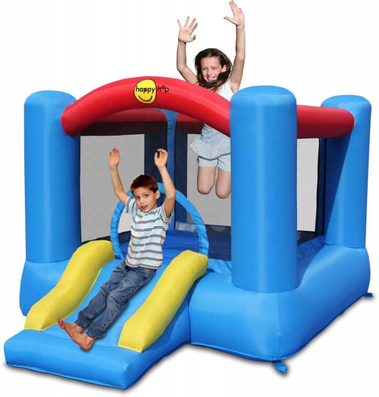 Hüpfburg HappyHop Slide & Hoop mit Rutsche