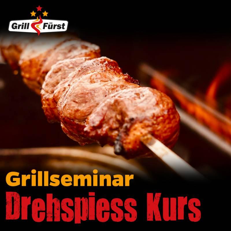 Für Spießer - der Drehspieß Grillkurs, Sa., 17.08.19,12:00 in Gründau bei Frankfurt