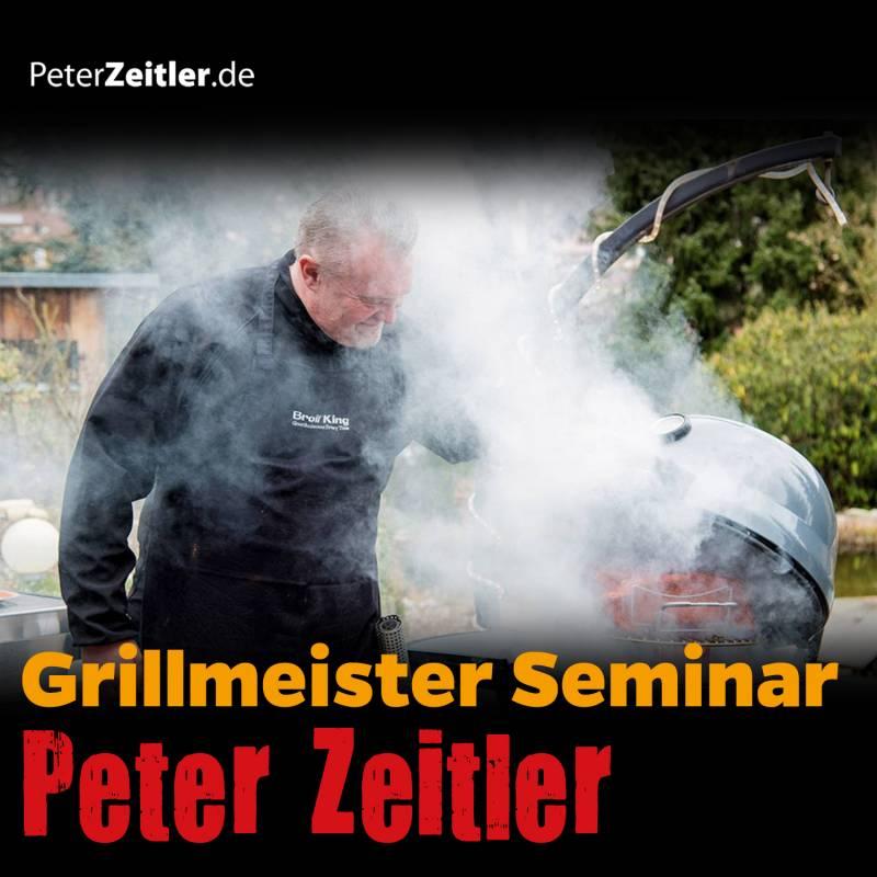Peter Zeitler - Grillen mit dem Deutschen Meister, Fr., 24.05.19, 17:00 Uhr, Bad Hersfeld