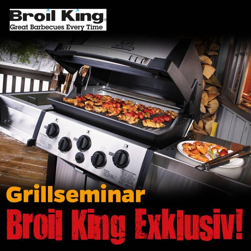 Broil King Gourmet Seminar, Sa., 23.03.19,12:00 Uhr, Bad Hersfeld