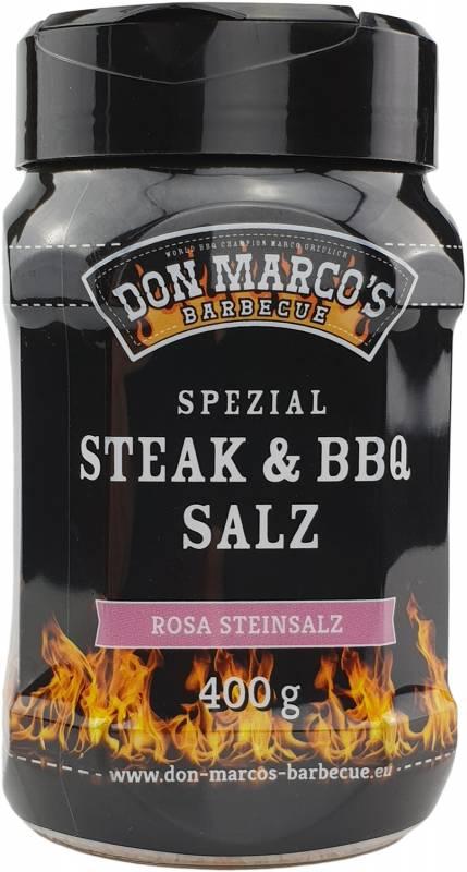 Don Marco`s Rosa Steinsalz - große Salzkörner - 400g Dose