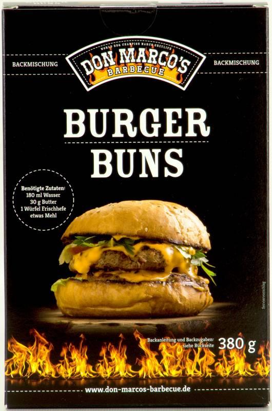 Don Marcos Burger Buns Backmischung 380g