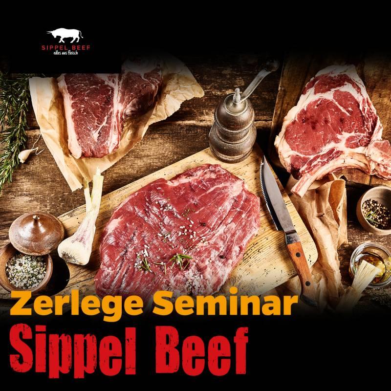 Zerlegekurs - 6 Steaks aus dem Rinderrücken, Sa., 04.05.19, 12:00 Uhr, in Gründau bei Frankfurt