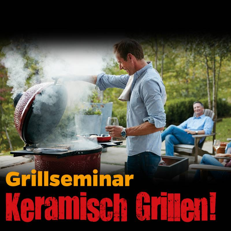 Monolith / Kamado Joe - Gourmet Grillen auf dem Keramik Grill, Sa., 15.06.19, 12:00 Uhr, Bad Hersfeld