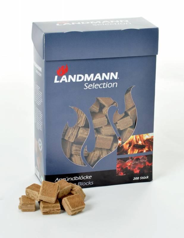 Landmann Anzündblöcke 200 Stk. im Karton