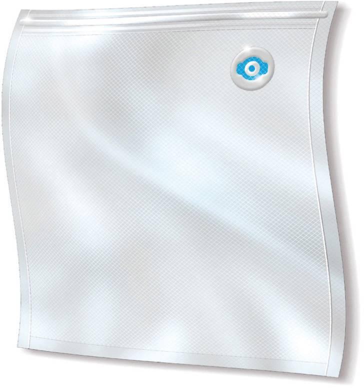 CASO Zip-Beutel 26 x 23 cm - 20 Stück